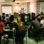picture of a group worship training