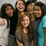 picture of a group of girls smiling